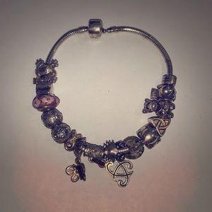 Jewelry - Vintage Carlo Biagi Sterling Charm Bracelet